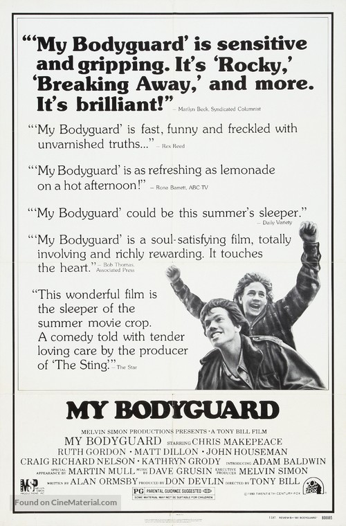 My Bodyguard - Movie Poster