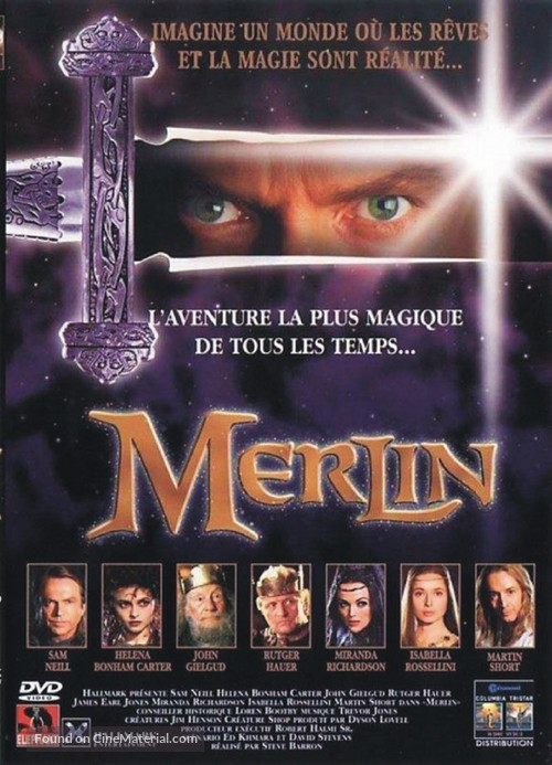 Merlin - French Movie Cover