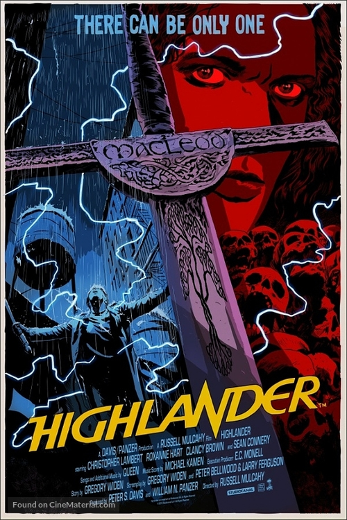 Highlander - Movie Poster