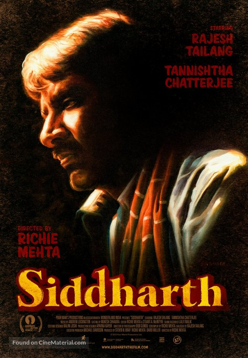 Siddharth - Canadian Movie Poster