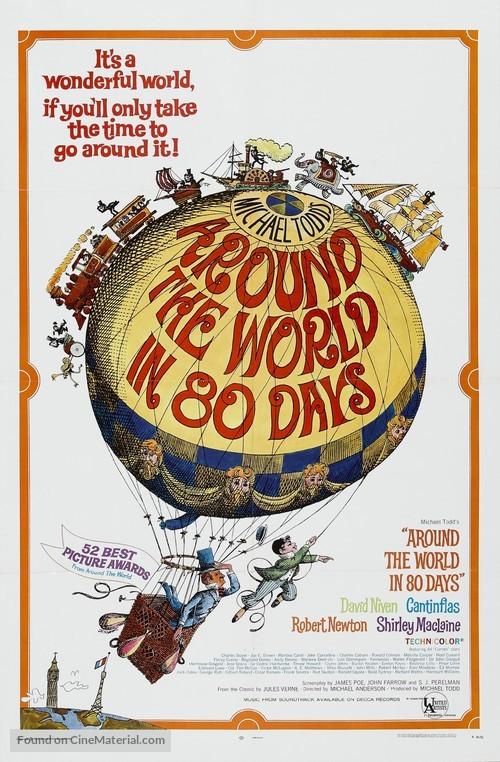 Around the World in Eighty Days movie poster