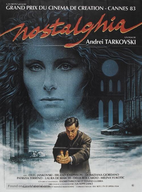 Nostalghia - French Movie Poster