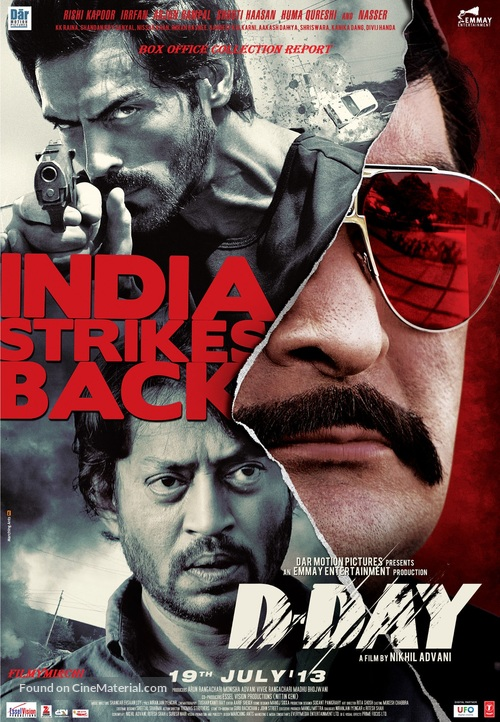 D-Day - Indian Movie Poster