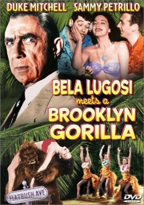 Bela Lugosi Meets a Brooklyn Gorilla - DVD movie cover