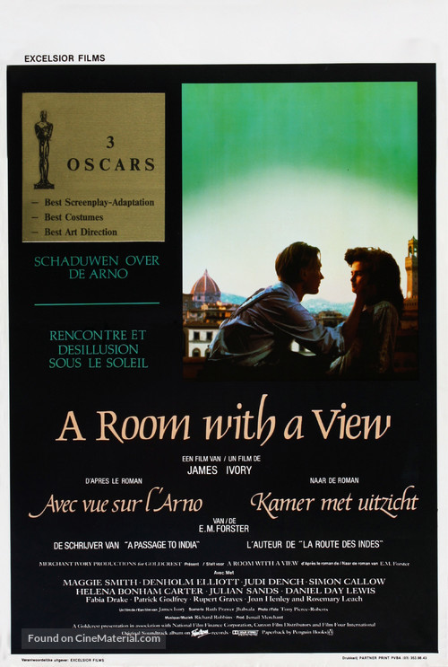 A Room with a View - Belgian Movie Poster