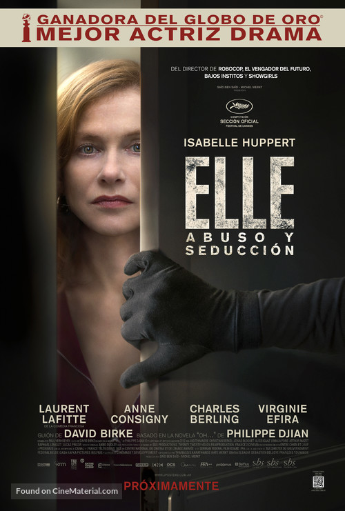 Elle - Argentinian Movie Poster
