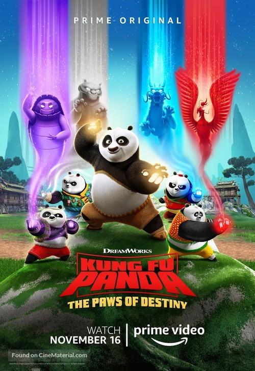 """Kung Fu Panda: The Paws of Destiny"" - Movie Poster"