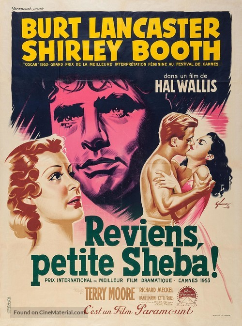 Come Back, Little Sheba - French Movie Poster