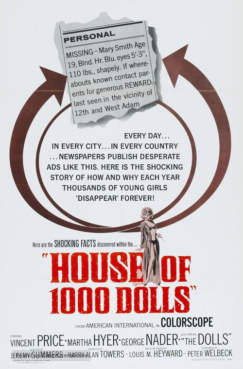 La casa de las mil muñecas - Movie Poster