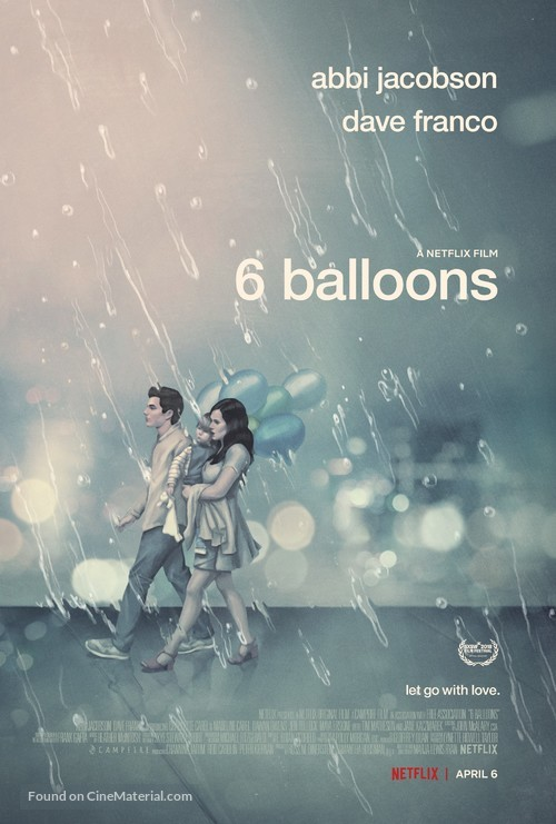 6 Balloons - Movie Poster