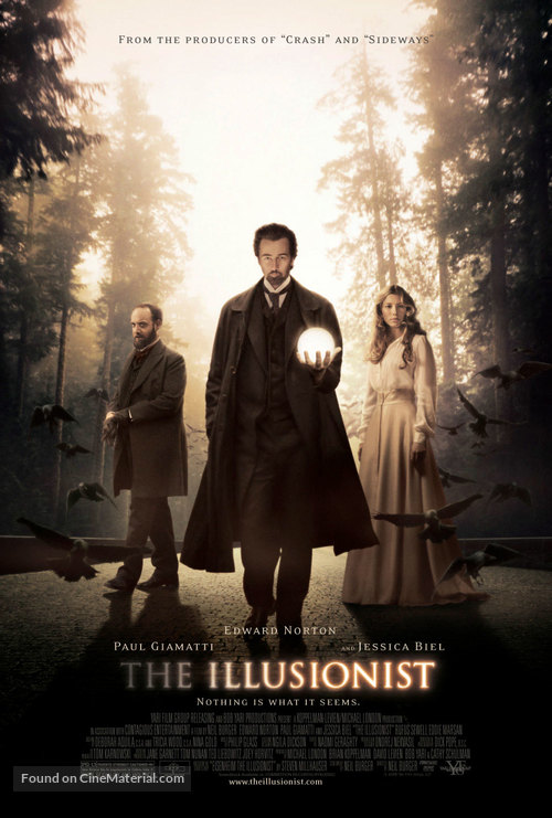 The Illusionist - Movie Poster