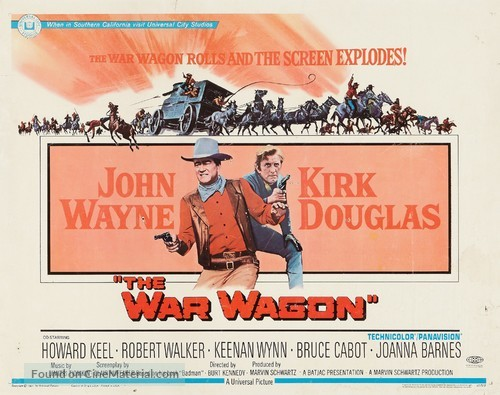 The War Wagon - Movie Poster