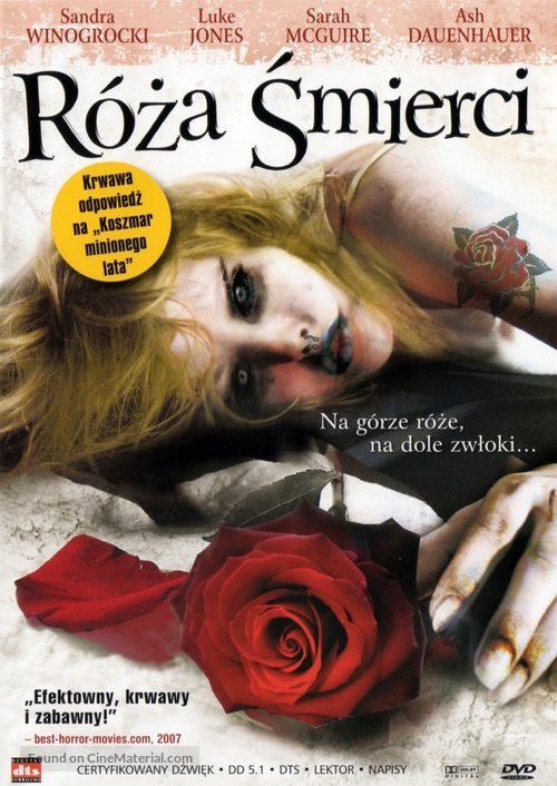 Rose of Death - Polish Movie Cover