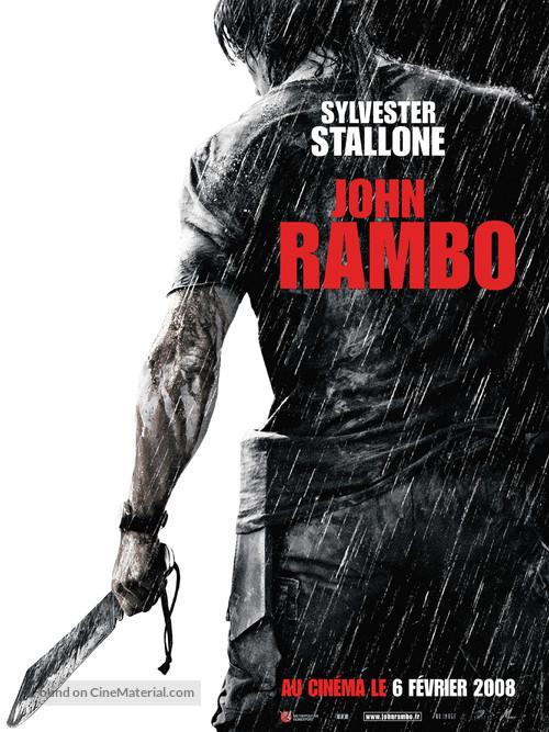 Rambo - French Movie Poster