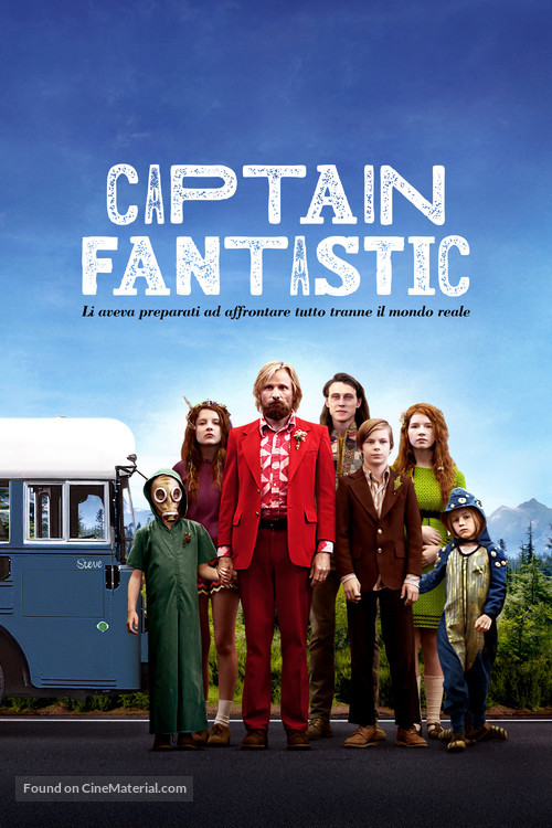 Captain Fantastic - Italian Movie Cover