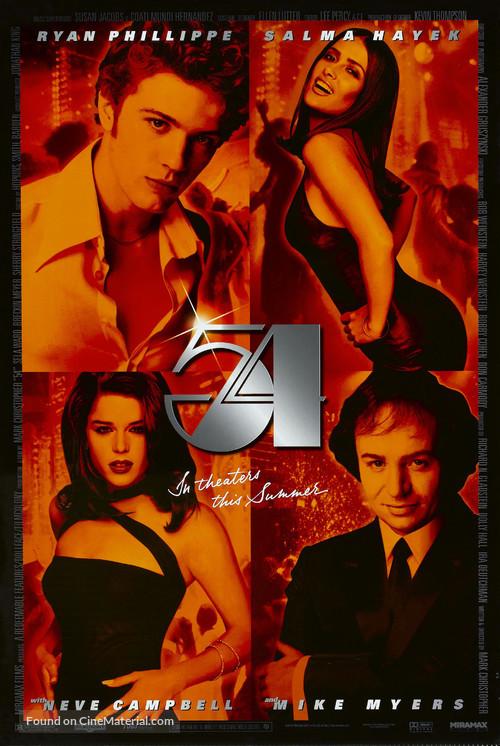 54 - Movie Poster