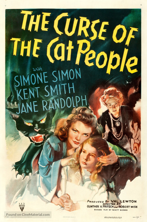 The Curse of the Cat People - Movie Poster
