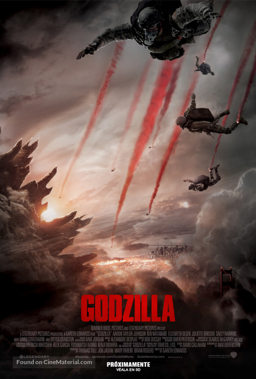 Godzilla - Mexican Movie Poster