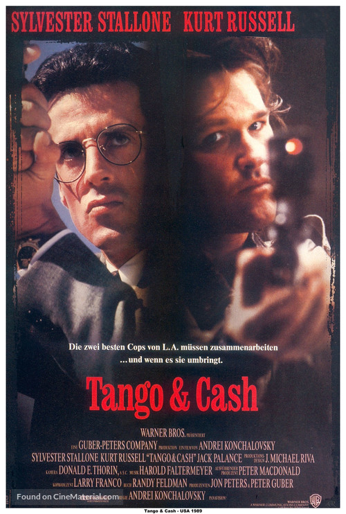 Tango And Cash - German Movie Poster