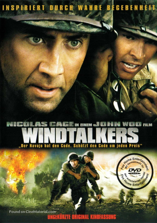 Windtalkers - German DVD movie cover