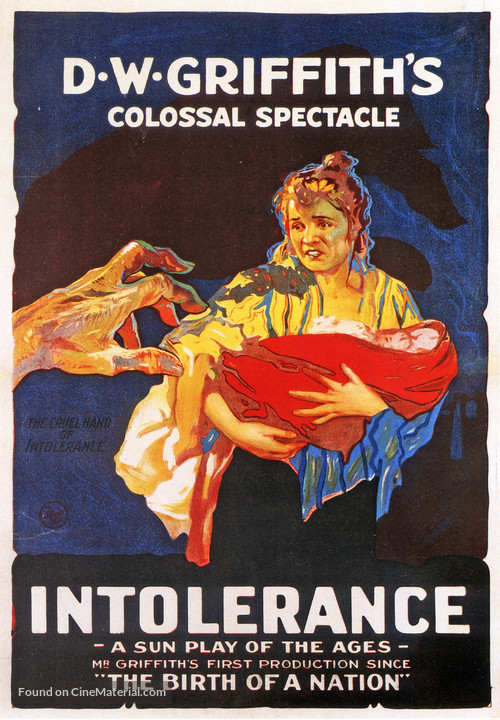 Intolerance: Love's Struggle Through the Ages - Movie Poster