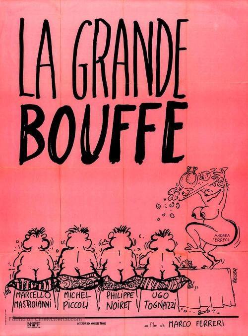 La grande bouffe - French Movie Poster