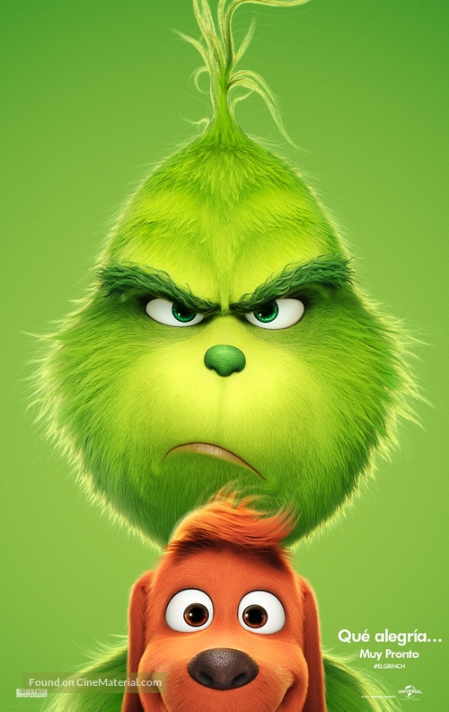 The Grinch - Bolivian Movie Poster