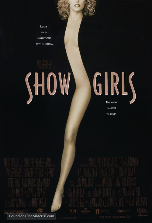 Showgirls - Theatrical poster