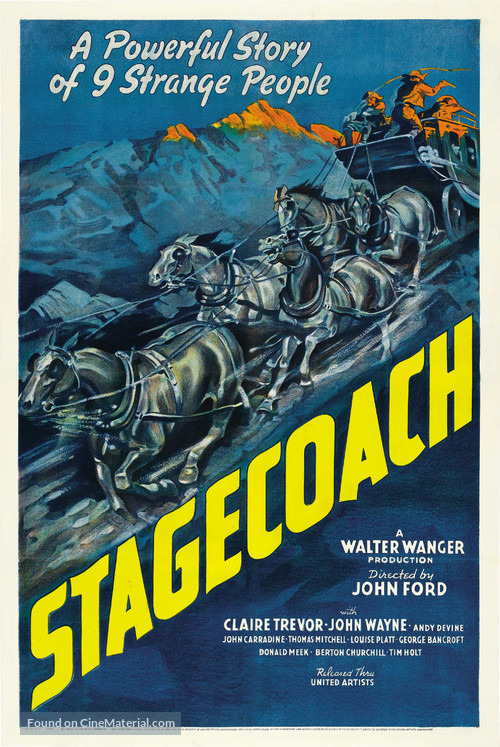 Stagecoach - Theatrical movie poster