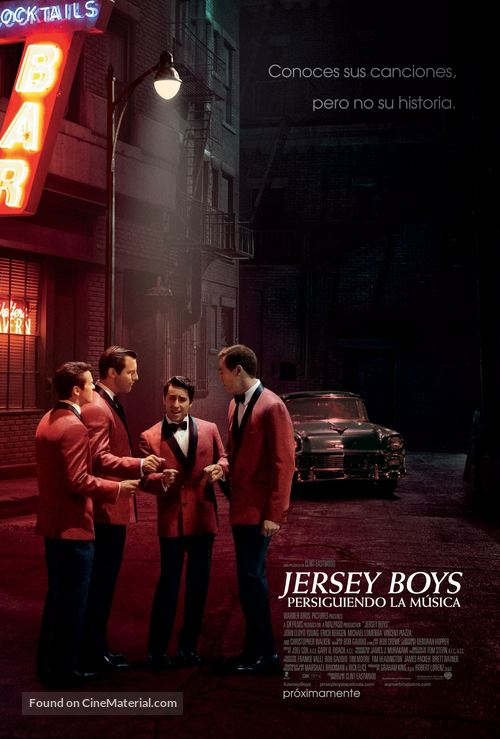Jersey Boys - Argentinian Movie Poster