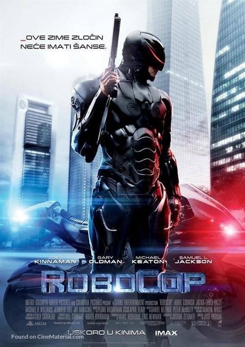 RoboCop - Croatian Movie Poster