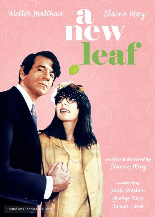 A New Leaf - DVD movie cover