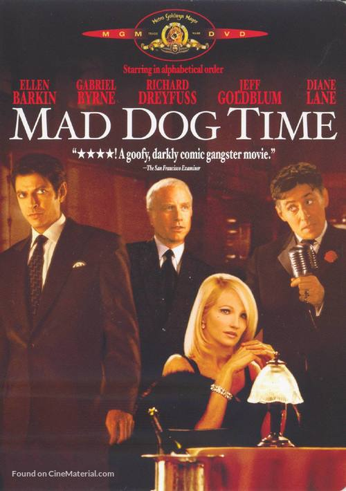Mad Dog Time - DVD movie cover