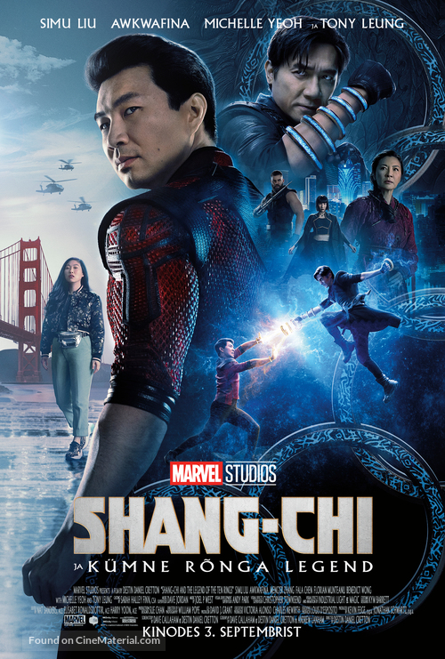 Shang-Chi and the Legend of the Ten Rings - Estonian Movie Poster