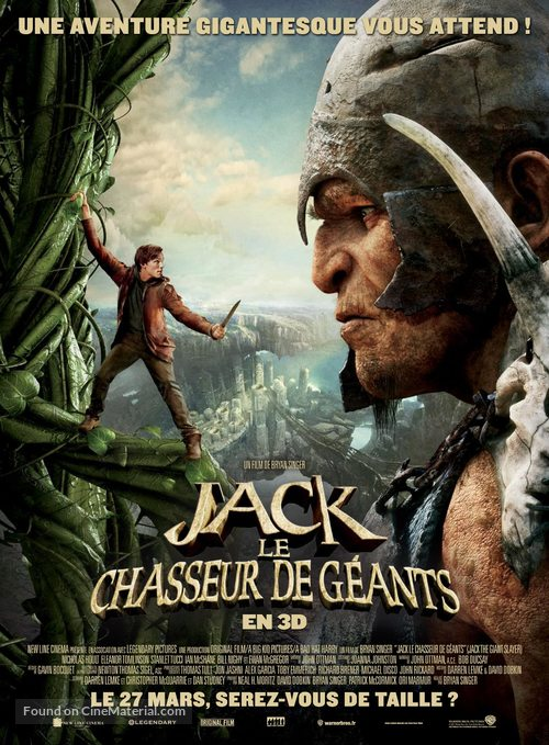 Jack the Giant Slayer - French Movie Poster