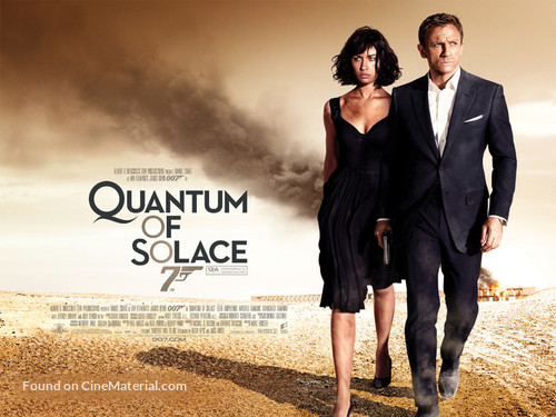 Quantum of Solace - British Movie Poster