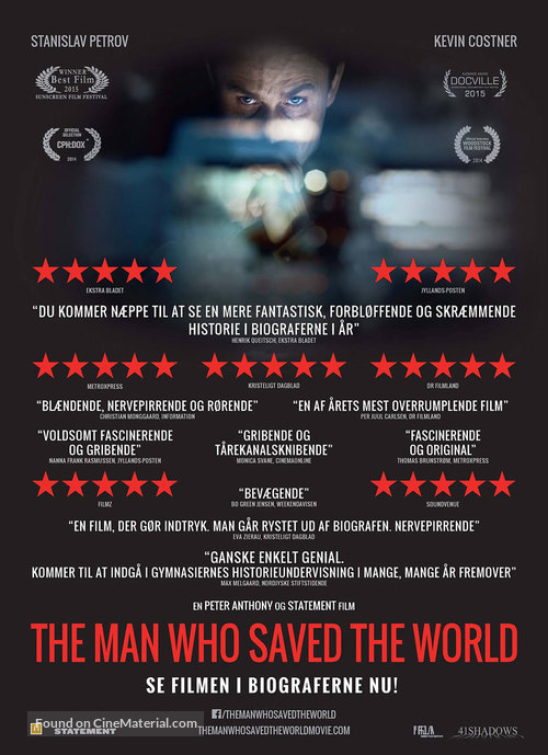 The Man Who Saved the World - Danish Movie Poster