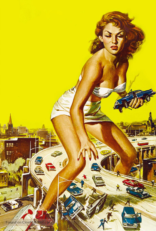 Attack of the 50 Foot Woman - Key art