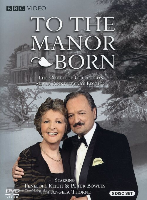 """""""To the Manor Born"""" - DVD movie cover"""