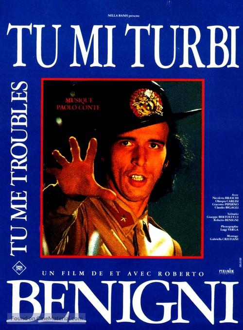 Tu mi turbi - French Movie Poster