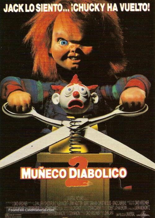 Child's Play 2 - Spanish Movie Poster