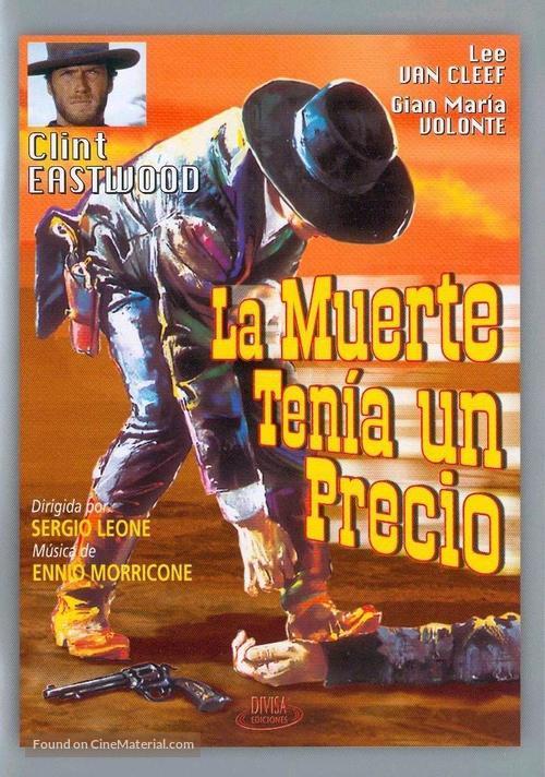 Per qualche dollaro in più - Spanish DVD movie cover