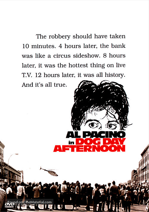 Dog Day Afternoon - DVD cover