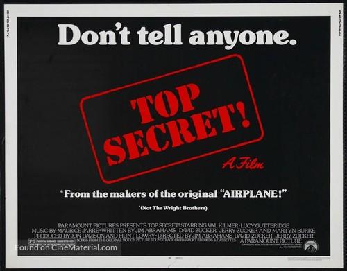 Top Secret - Movie Poster