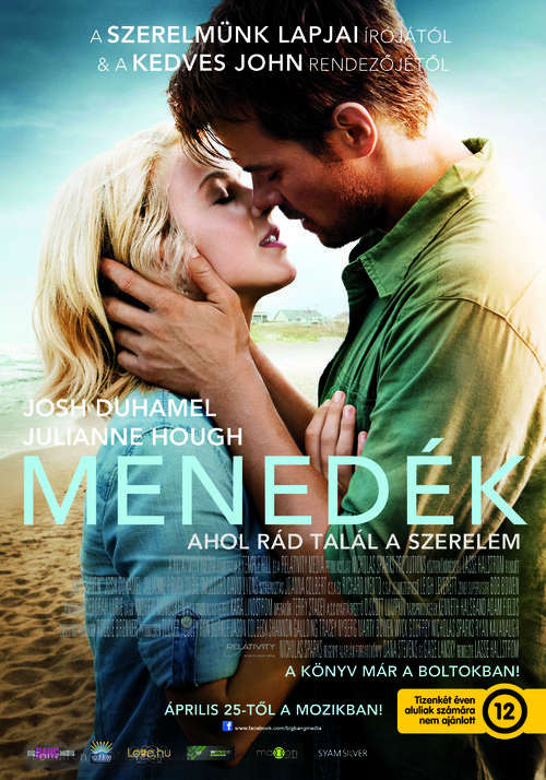 Safe Haven - Hungarian Movie Poster