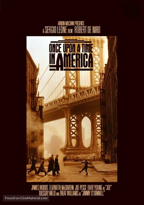 Once Upon a Time in America - Movie Poster