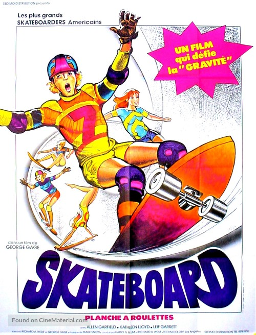 Skateboard - French Movie Poster