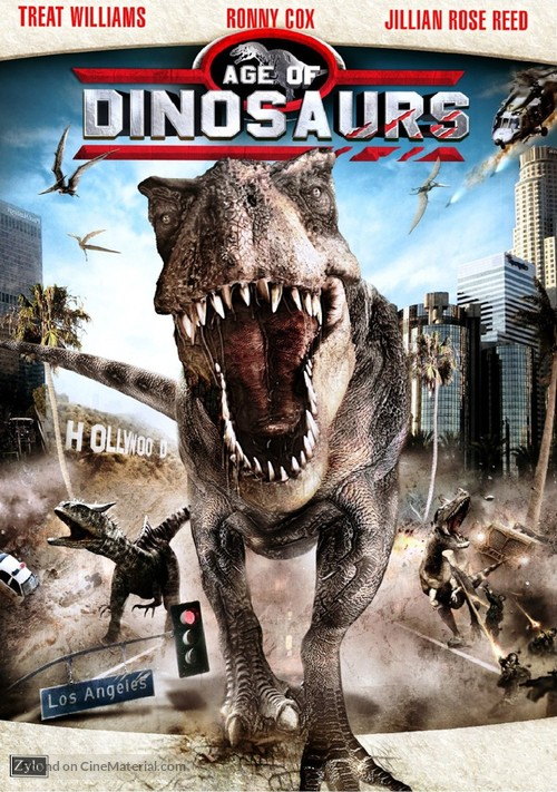 Age of Dinosaurs - French DVD movie cover