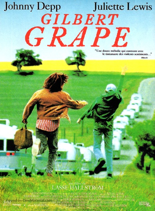 What's Eating Gilbert Grape - French Movie Poster