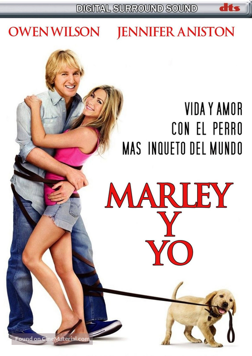 Marley & Me - Argentinian Movie Cover